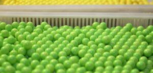 Custom production of paintballs